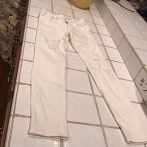 White, All Saints  jeans
